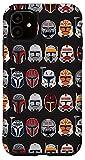iPhone 11 Star Wars The Clone Wars Trooper Helmet Pattern Case