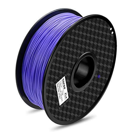 TIANSE Filamento de PLA para la impresora 3D / Pluma 3d, 1 kg 1,75 mm(Violeta)