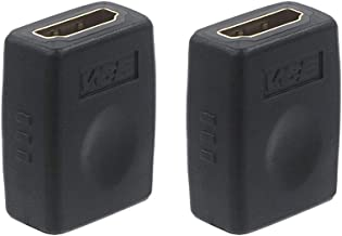 VCE 2 Pack HDMI Coupler HDMI 4K Female to Female Connector Adapter