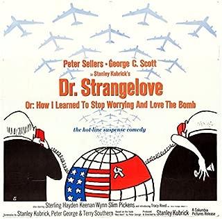 dr strangelove original movie poster