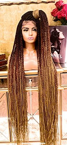 SANDRA 54' Micro-Long Knotless Hand Braided Hair...