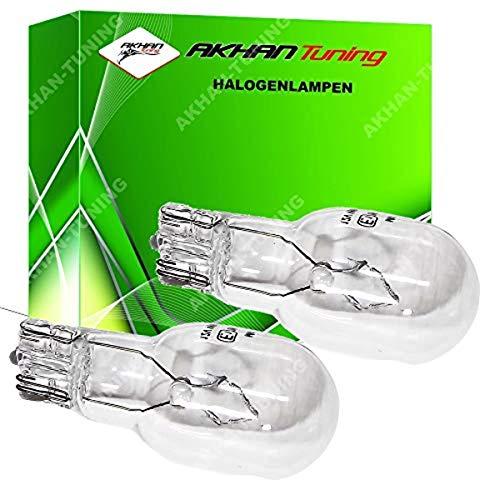 58099 - lampe halogène ampoule ampoule de rechange 12V - W16W - 16W - W2,1x9,5d