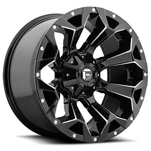 Fuel D576 Assault 18x9 6x135/6x139.7 (6x5.5') +19mm Black/Milled Wheel Rim