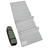 REDCAMP Closed Cell Foam Sleeping Pad for Camping, 22' Wide Lightweight Folding Camping Pad for Hiking Backpacking, 72'x22'x0.75', Green 1 Pack