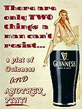 None Brand Guinness Brewed In Dublin Blechschild Retro