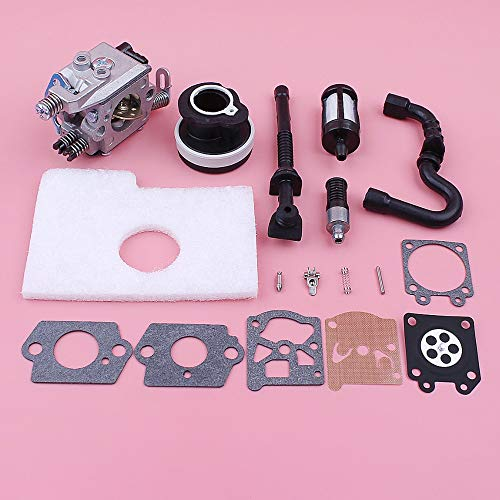 Carburetor Carb Repair Rebuild Kit voor Stihl MS180 MS170 018 017 MS 180 170 Luchtbrandstof Filter Line Inlaat Manifold kettingzaag