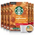 Starbucks Medium Roast K-Cup Coffee Pods — Toffeenut for Keurig Brewers — 6 boxes (60 pods total)