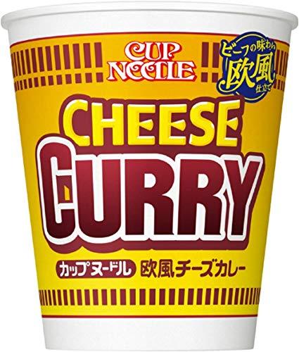 4位:日清食品『カップヌードル欧風チーズカレー』