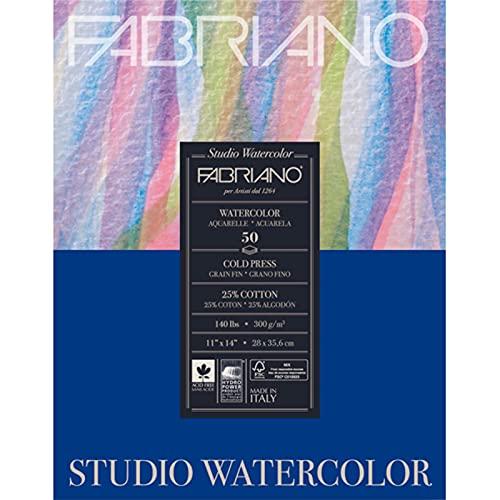 Savoir Faire Studio Watercolor Pad, 11 x 14, White
