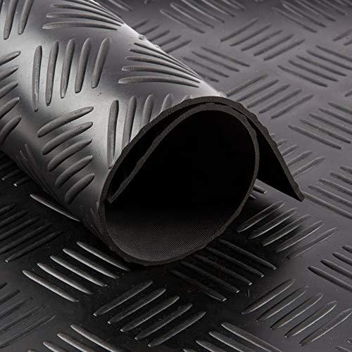 Gummiläufer Riffelblech 3mm (140cm breit) | | Gummimatten | Meterware