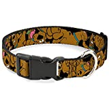 """Fits 18-32"""" neck size and is 1. 5"""" wide. Vibrant and bold, this beautiful polyester dog collar is made to show off your dog's unique style through all the seasons. With an overengineered plastic buckle and strong D-ring, this durable collar can hold ..."""