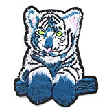 familyfirst tradings Tiger Cub Eisen auf patch- Animal Zoo