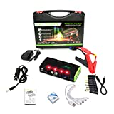 68800Mah Car Jump Starter with 4 USB Multi-Function Powerbank Battery Booster Pack, for 12V 6L Petrol 4L Diesel Engine