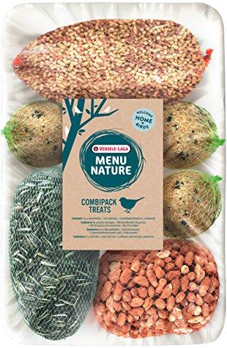 VERSELE LAGA Mélange de Nourriture pour Oiseaux Sauvages Menu Nature Combipack Treats Sac 1 kg