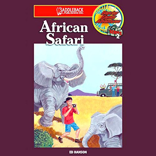 African Safari audiobook cover art