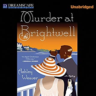 Murder at the Brightwell audiobook cover art