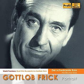 The Blackest Bass: Gottlob Frick Portrait