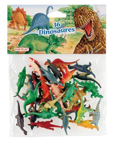 Kim'Play - 515 - Figurine - Animal - 36 X Dinosaures