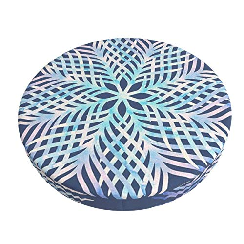 Round Bar Stools Cover,Magisches Mandala Idr,Stretch Chair Seat Bar Stool Cover Seat Cushion Slipcovers Chair Cushion Cover Round Lift Chair Stool