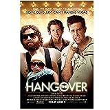 DNJKSA The Hangover Movie Art Poster Print on Canvas Hd Art