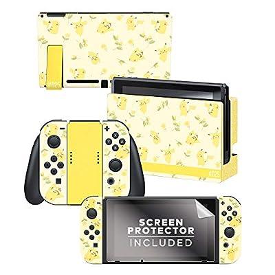 Controller Gear Nintendo Switch Skin & Screen Protector Set