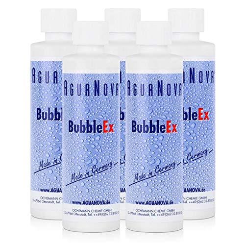 5x AguaNova BubbleEx 400g - gegen Luftblasenbildung in Wassermatratzen