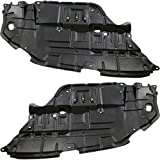 Left & Right Side Engine Splash Shield Compatible with 2012-2014 Toyota Camry Set of 2