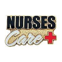 看護師Careラペルピン–セットof 100