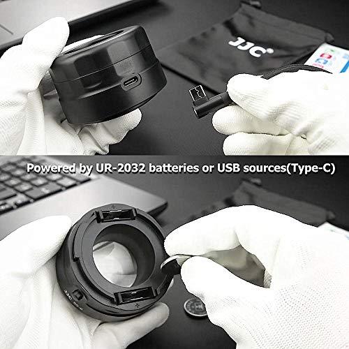 Movo LCT7X SLR Sensor Lupa con iluminación brillante Led De Polvo