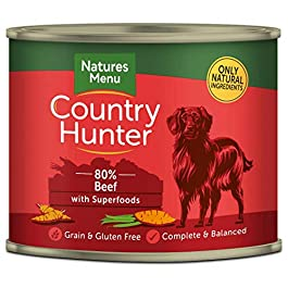 Natures Menu Country Hunter Dog Food Can