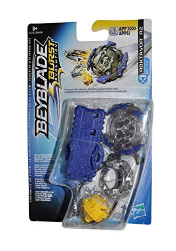 Beyblade Burst Evolution Peozza con lanciatore (Roktavor R2)