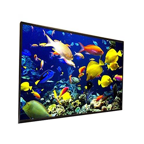 TWDYC Pantalla de proyector para Exteriores 150/200 Pulgadas 300 Pulgadas Material de Tela Blanca 180/250 Pulgadas Opcional 16: 9/4: 3 (Size : 200 Inch)
