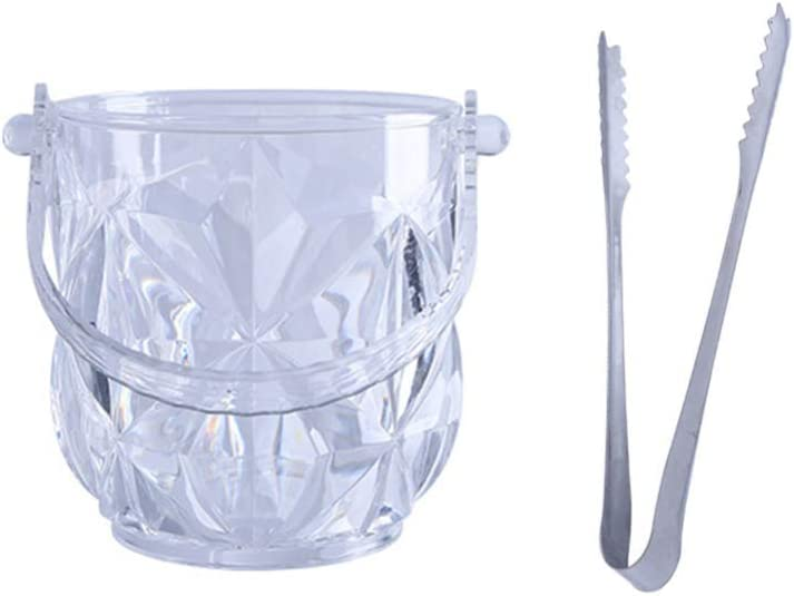 Hemoton 2pcs Clear Acrylic Ice Champagne Wine with Bucket Max 59% OFF Cheap mail order shopping