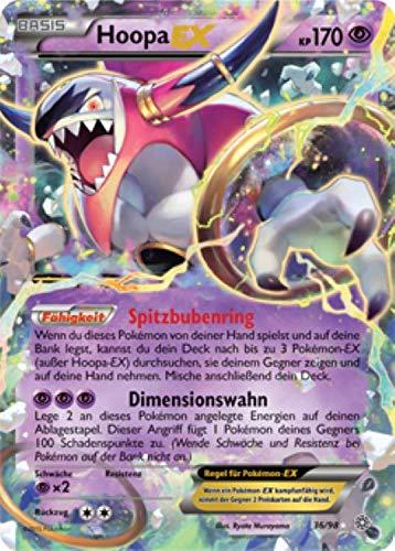 Hoopa EX 36/98 Pokémon XY Ewiger Anfang Sammelkarte - Deutsch - Cardicuno