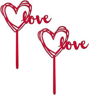 Mattarello in legno con stampa a cuore per impasto decorazione San Valentino Bestoyard