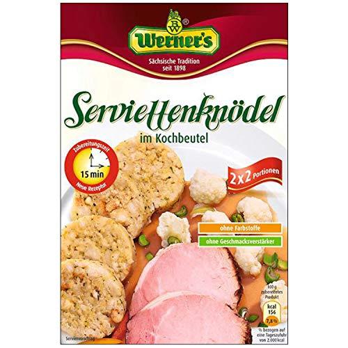 Werner Serviettenknödel, 2x2 St. im Beutel