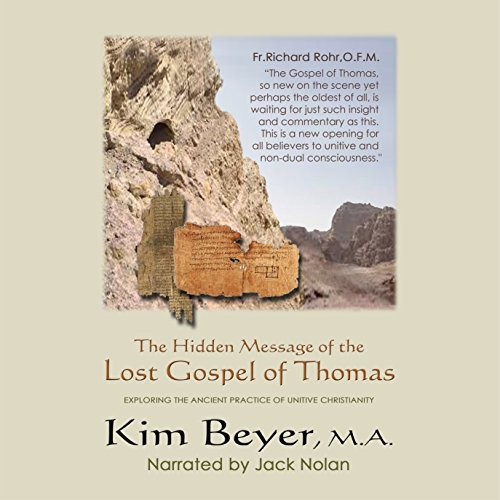The Hidden Message of the Lost Gospel of Thomas cover art