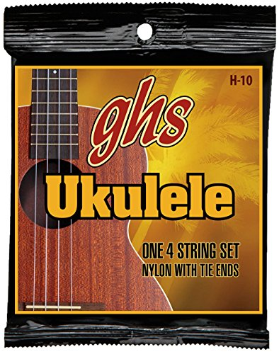 GHS H-10 Hawaiian Ukulele Black Nylon Strings