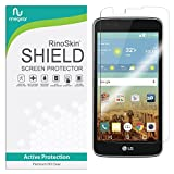 RinoGear Screen Protector for LG K7 / LG Tribute 5 Case Friendly LG K7 / LG Tribute 5 Screen Protector Accessory Full Coverage Clear Film