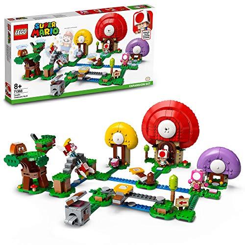 LEGO71368SuperMarioToadsSchatzsuche–Erweiterungsset, Bauspiel