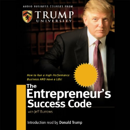 The Entrepreneur's Success Code audiobook cover art
