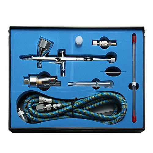 ExcLent 9Cc Dual Action 3 Airbrush Luftkompressor Kit Craft Cake Paint Art Spritzpistole