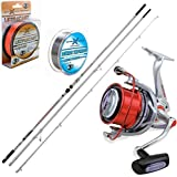 Kit Surfcasting,Canna Mitchell AVOCET PB 423 100/250,Mulinello Shizuka SK10,Filo EVO POWER TAPERED...