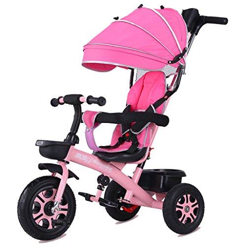 LYM &Poussette de bébé Bicyclette de Tricycle d'enfants de la Promenade Trike 1-3-5-2-6 Ans Roue en Mousse ( Color : # 2 )