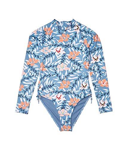 Roxy Kids Girl's Chase Your Dream Lycra Swim One-Piece (Big Kids) Blue Heaven Pardee XL (14 Big Kids)