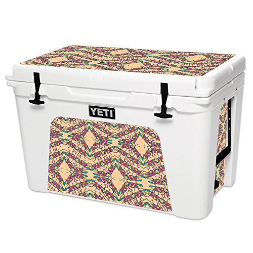 MightySkins Skin Compatible with YETI Tundra 105 qt Cooler - Grass Hopper | Protective, Durable, and Unique Vinyl Decal wrap Cover | Easy to Apply, Remove, and Change Styles | Made in The USA