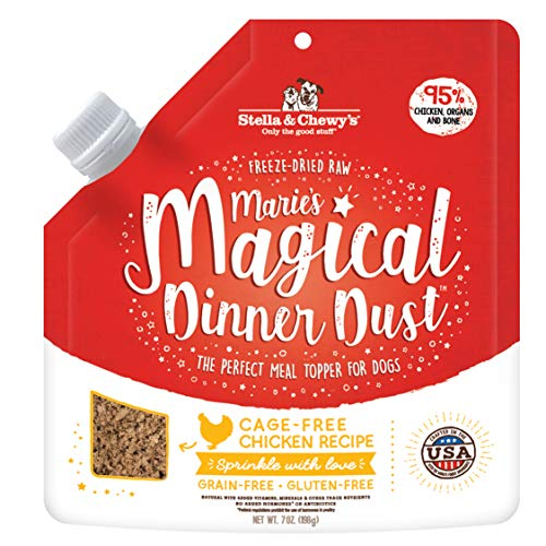 Stella & Chewy's Freeze-Dried Raw Marie's Magical Dinner Dust Cage-Free Chicken...