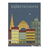 artboxONE Ravensburger-Puzzle XXL (1500 Teile) Städte / København Kopenhagen