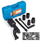 Mophorn 1:64 Torque Multiplier Wrench 6400 NM Lug Nut Wrench Set Lugnut Remover with Case Labor Saving Wrench Tool Heavy Duty Torque Multiplier Tool for Truck Trailer RV