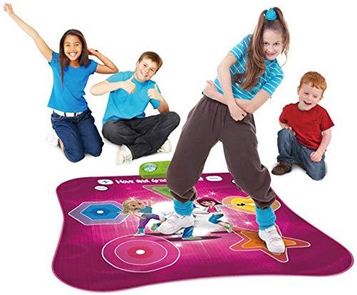 SHKUU Tapetes para Piano, tapete Baile Iluminado, Juegos Baile Estilo Arcade con Pistas música incorporadas, tapete Juego Ritmo y Ritmo desafío Baile Juguetes